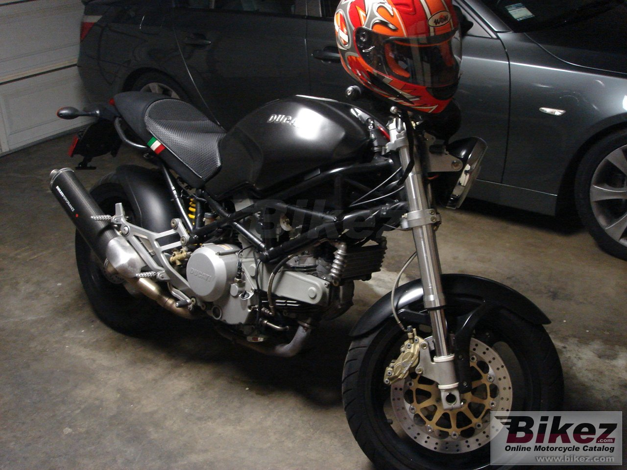 monster 750 i.e. dark