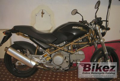 2002 Ducati Monster 600 Dark Specifications And Pictures