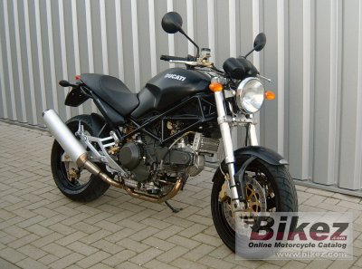 2002 Ducati Monster 900 i.e. Dark
