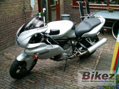 2003 Ducati 620 Sport Half-fairing