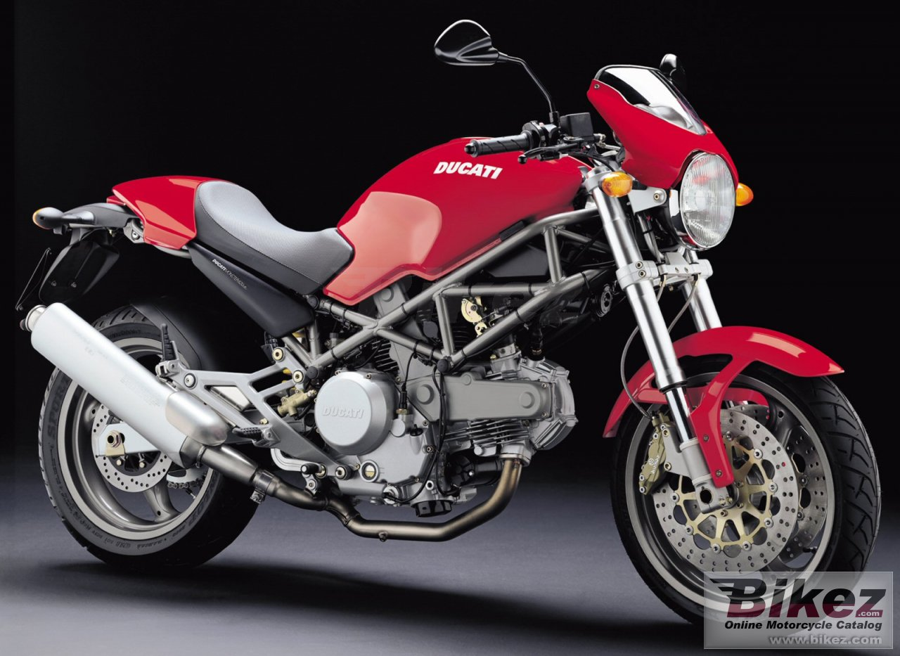 Big Ducati monster 620 i.e. picture and wallpaper from Bikez.com