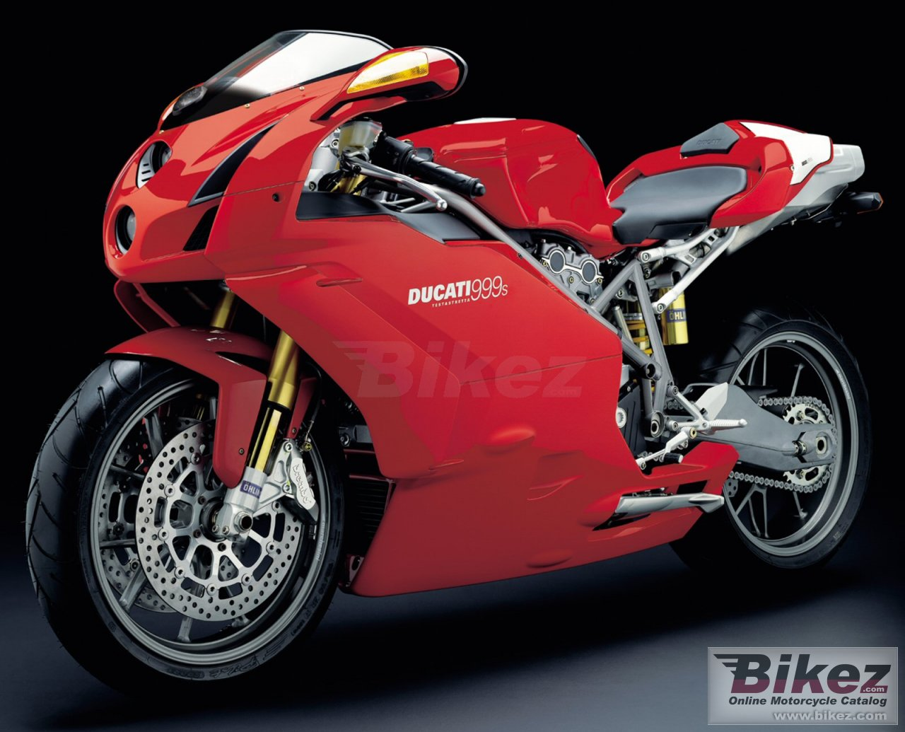 Big Ducati 999 s picture and wallpaper from Bikez.com
