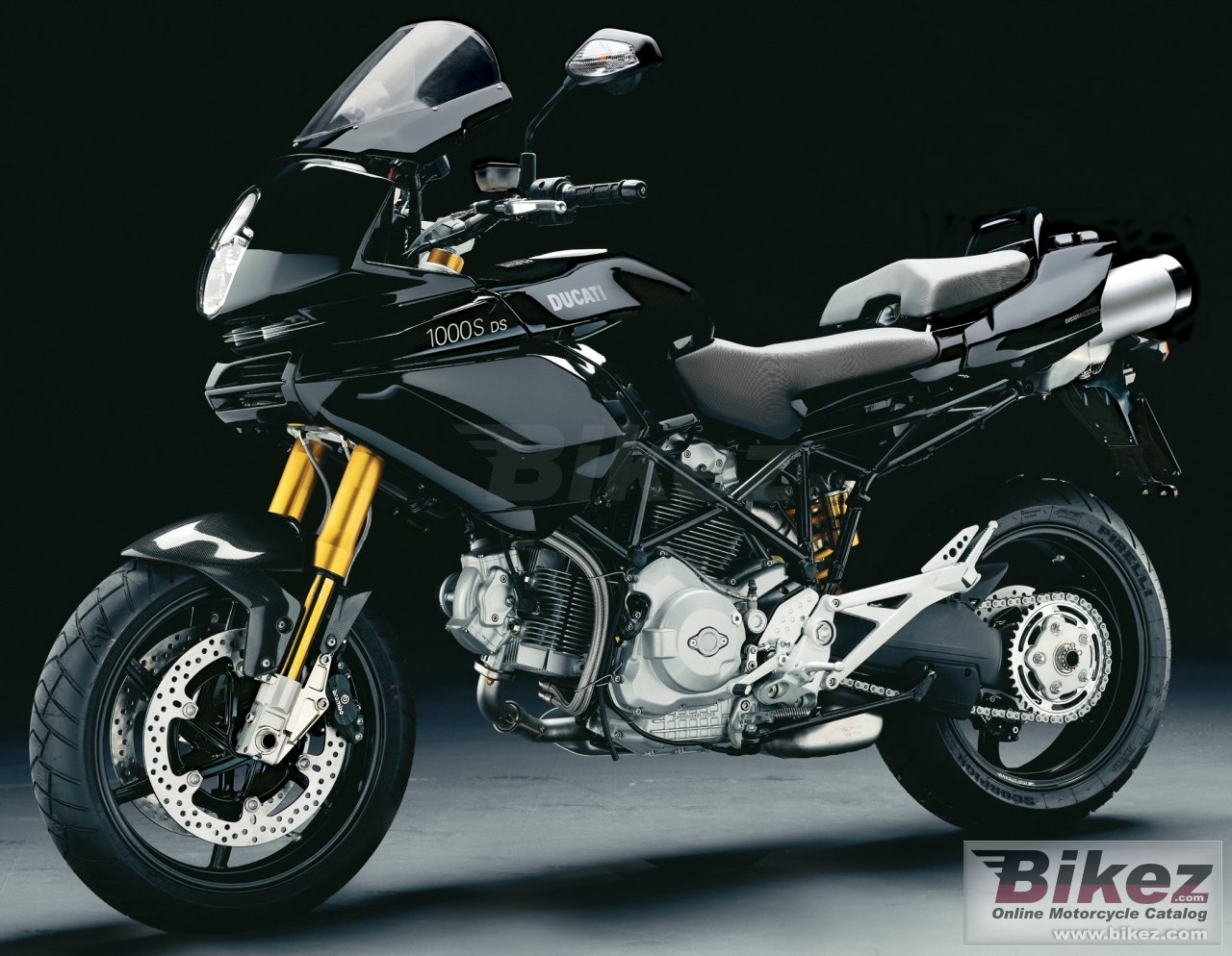 Big Ducati multistrada 1000s ds picture and wallpaper from Bikez.com