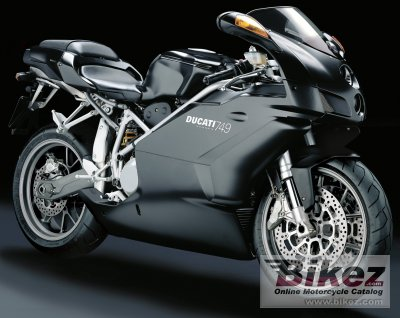 2005 Ducati 749 Dark specifications and pictures