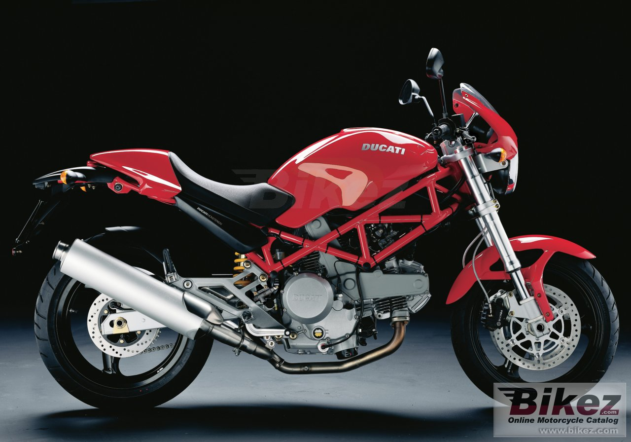 Big Ducati monster 620 picture and wallpaper from Bikez.com