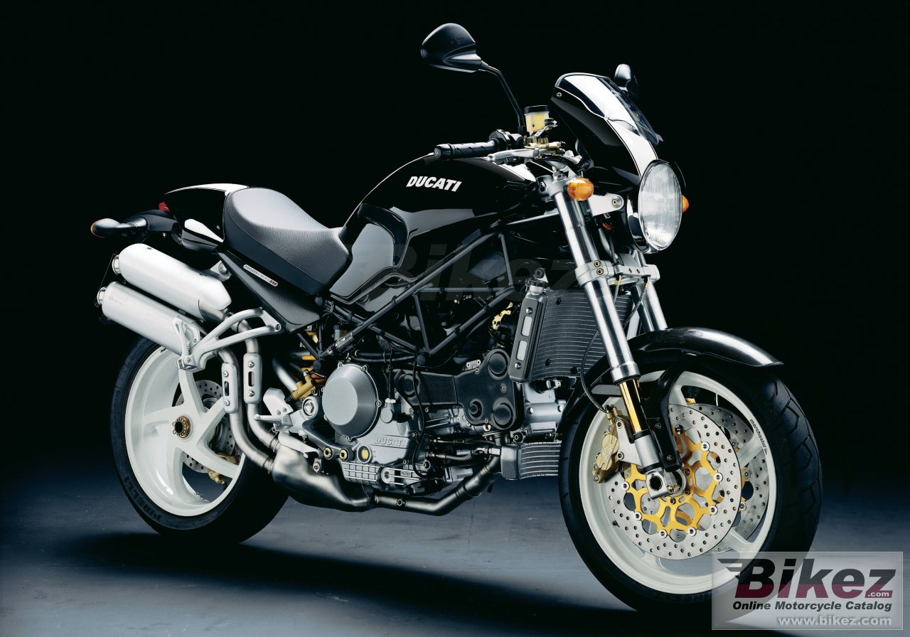 Big Ducati monster s4r picture and wallpaper from Bikez.com