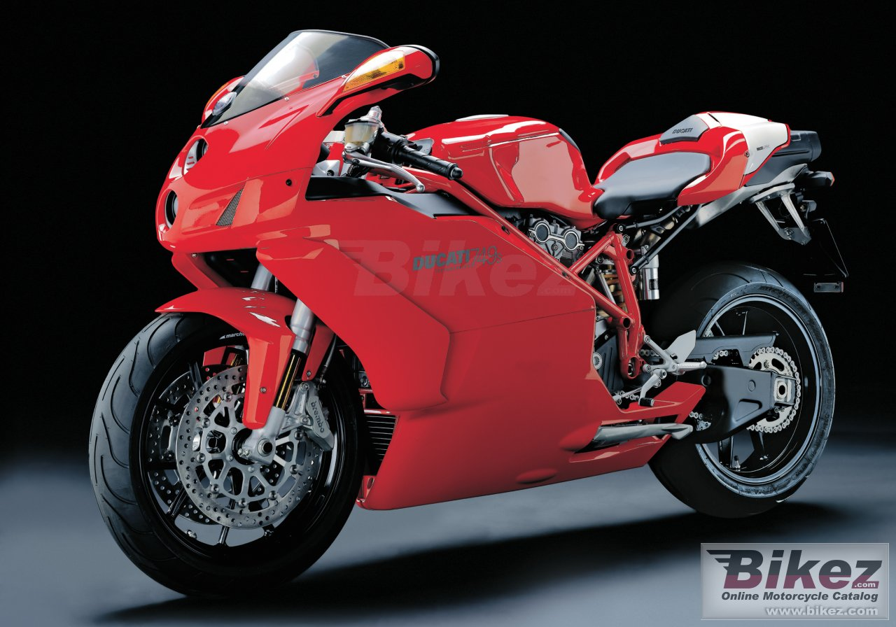 Big Ducati 749s picture and wallpaper from Bikez.com