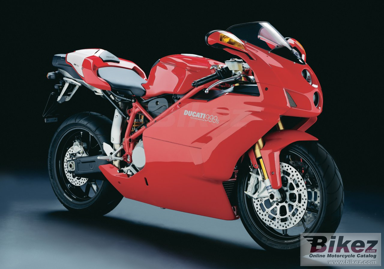 Big Ducati 999s superbike picture and wallpaper from Bikez.com