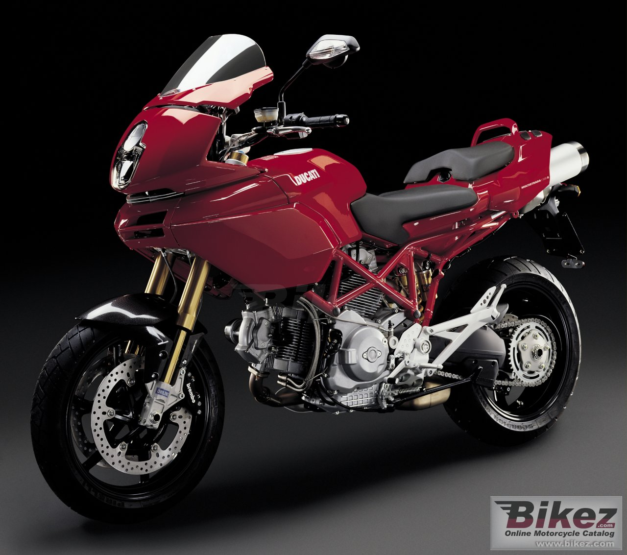 Big Ducati multistrada 1100 s picture and wallpaper from Bikez.com