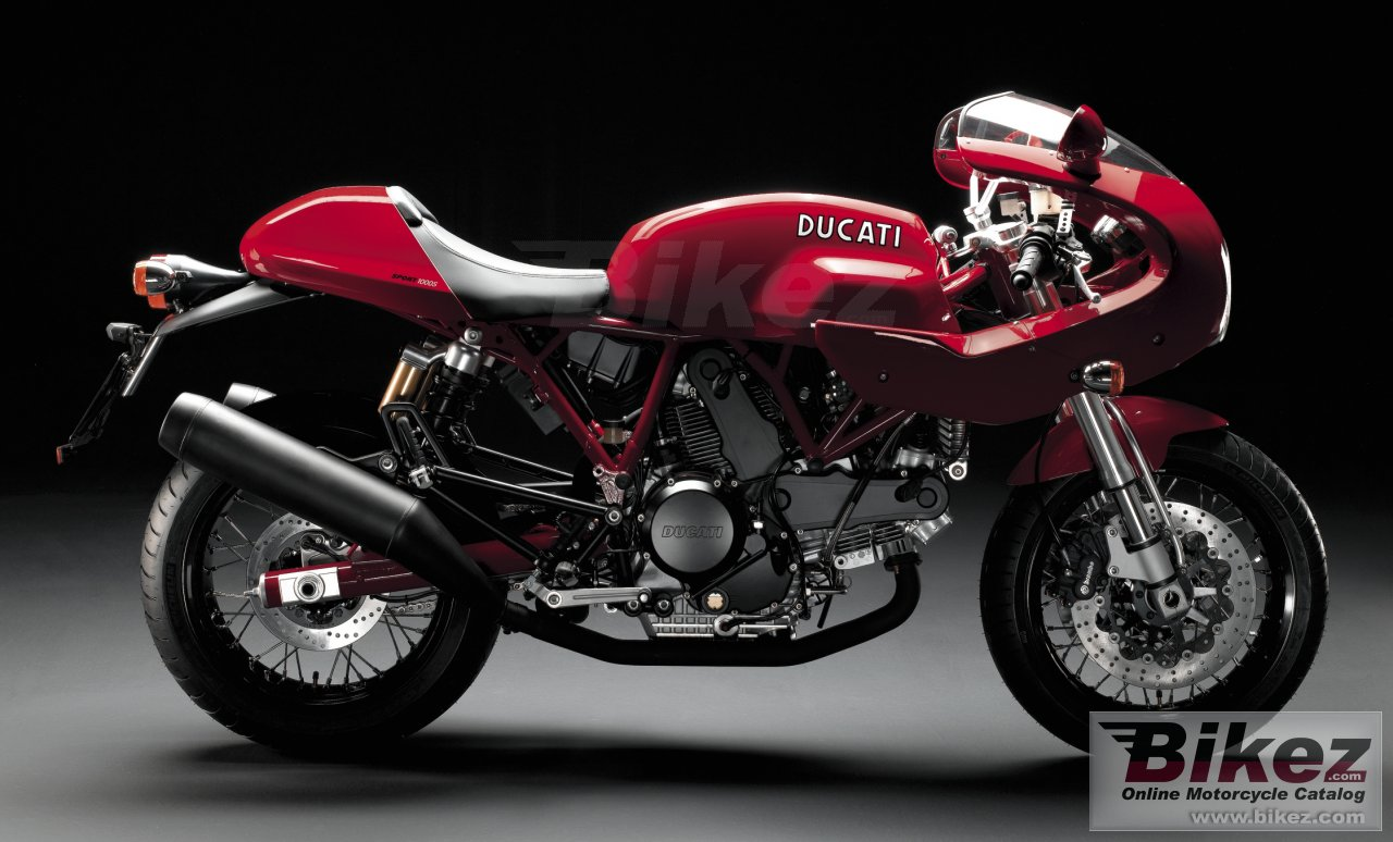 Big Ducati sport 1000 s picture and wallpaper from Bikez.com