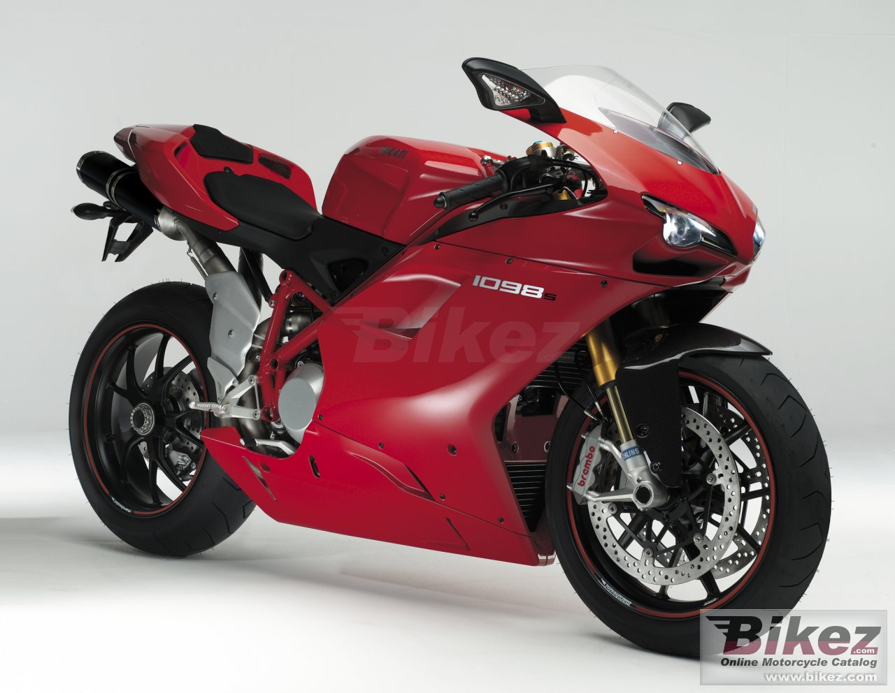 Big Ducati superbike 1098 s picture and wallpaper from Bikez.com