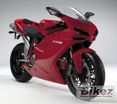 2007 Ducati Superbike 1098 specifications and pictures