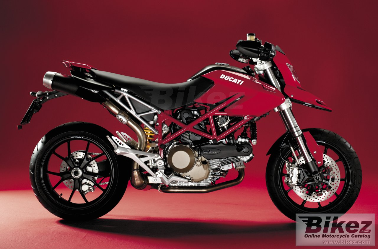 Big Ducati hypermotard 1100 picture and wallpaper from Bikez.com