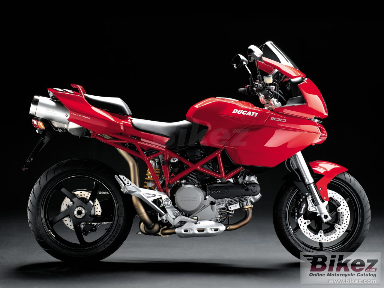 Big Ducati multistrada 1100 picture and wallpaper from Bikez.com