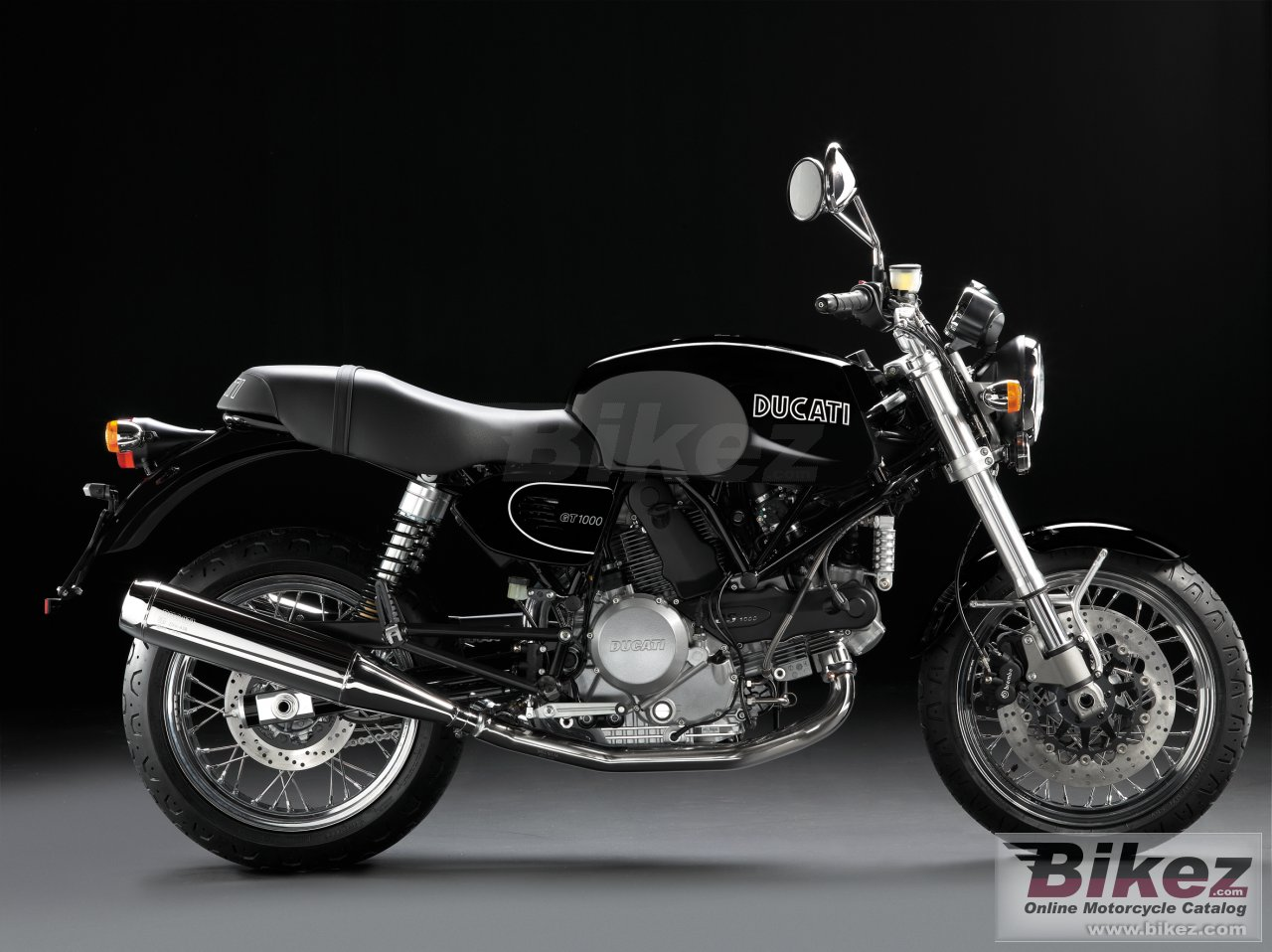 Big Ducati sportclassic gt 1000 picture and wallpaper from Bikez.com