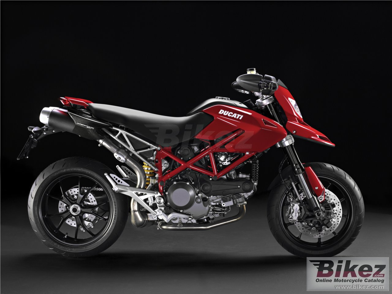 Big Ducati hypermotard 1100 evo picture and wallpaper from Bikez.com