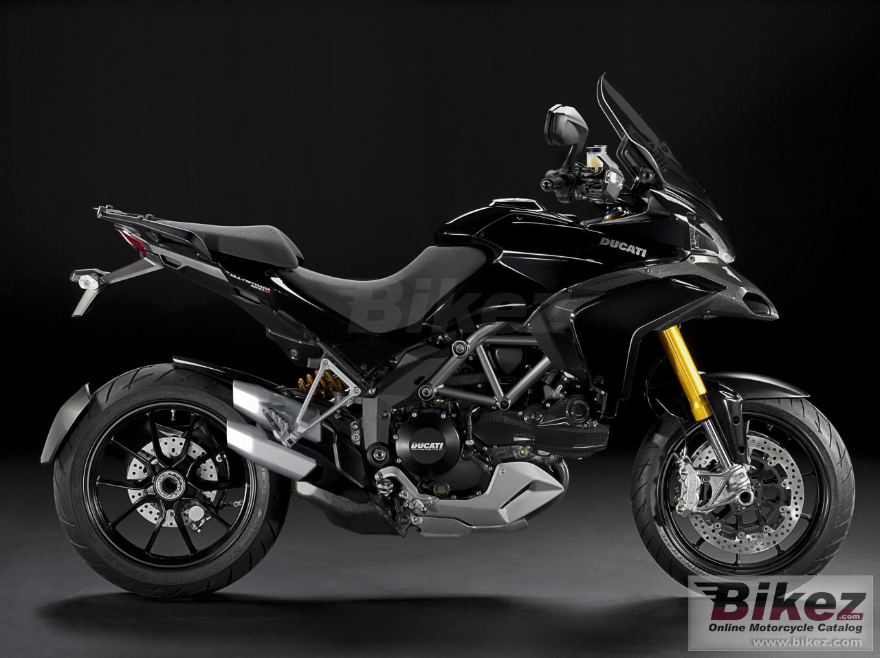 Big Ducati multistrada 1200 s picture and wallpaper from Bikez.com