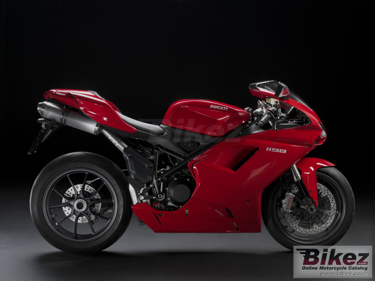 Big Ducati 1198 picture and wallpaper from Bikez.com
