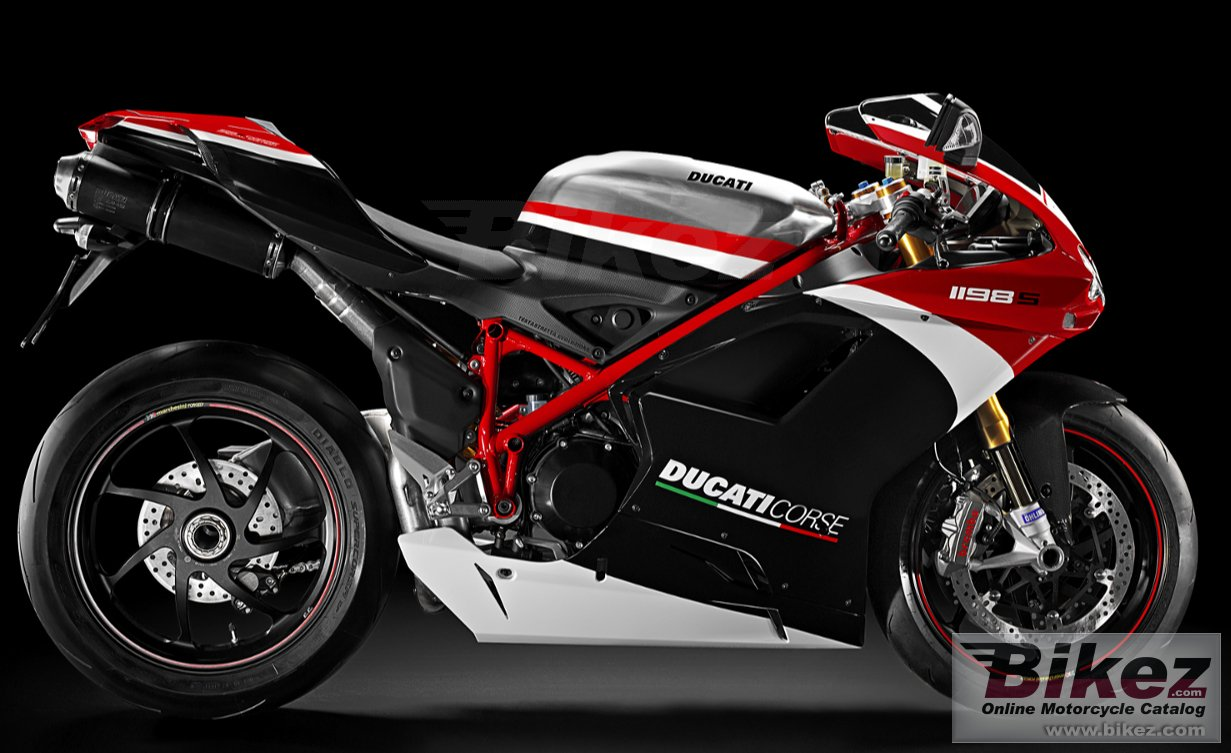 Big Ducati 1198 s corse special edition picture and wallpaper from Bikez.com