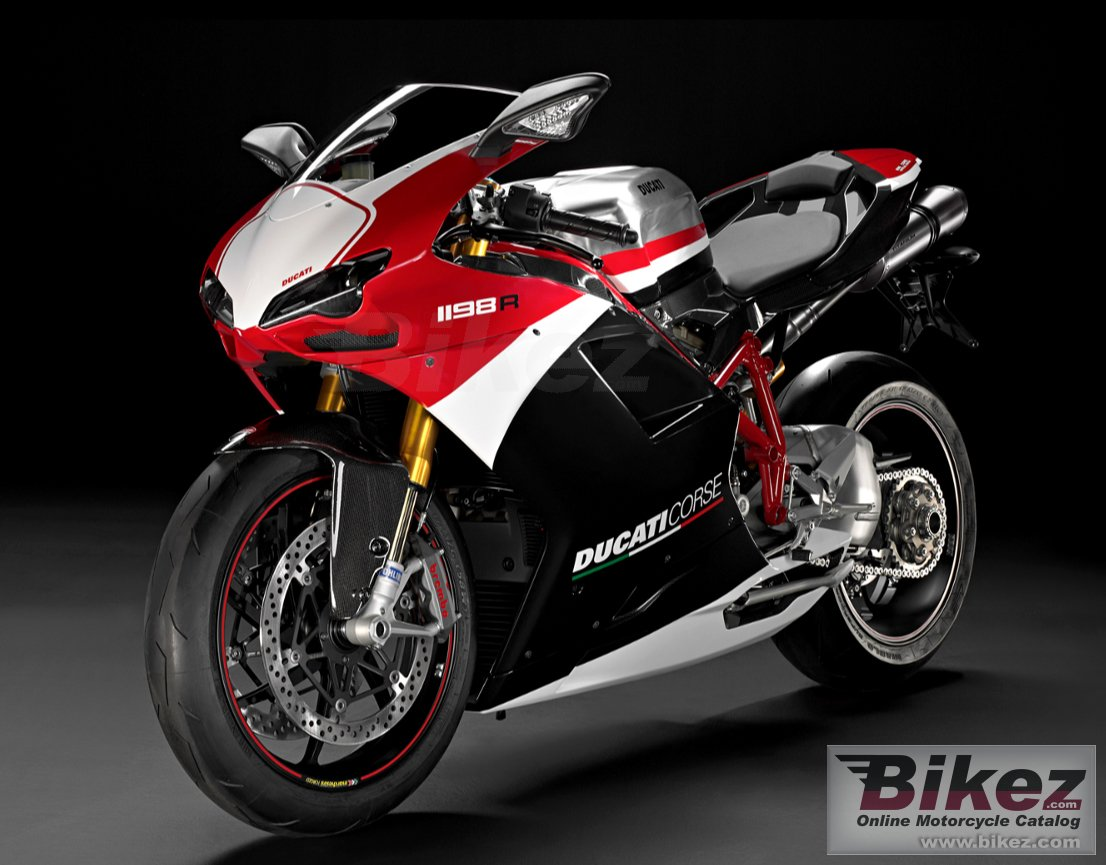 Big Ducati 1198 r corse special edition picture and wallpaper from Bikez.com