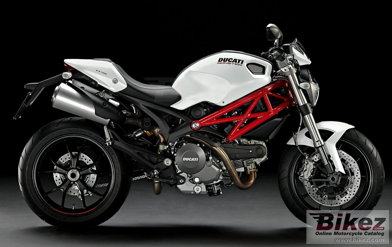 Big Ducati monster 796 picture and wallpaper from Bikez.com