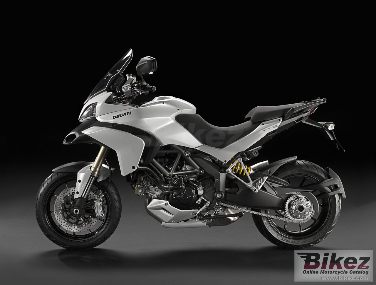 Big Ducati multistrada 1200 picture and wallpaper from Bikez.com