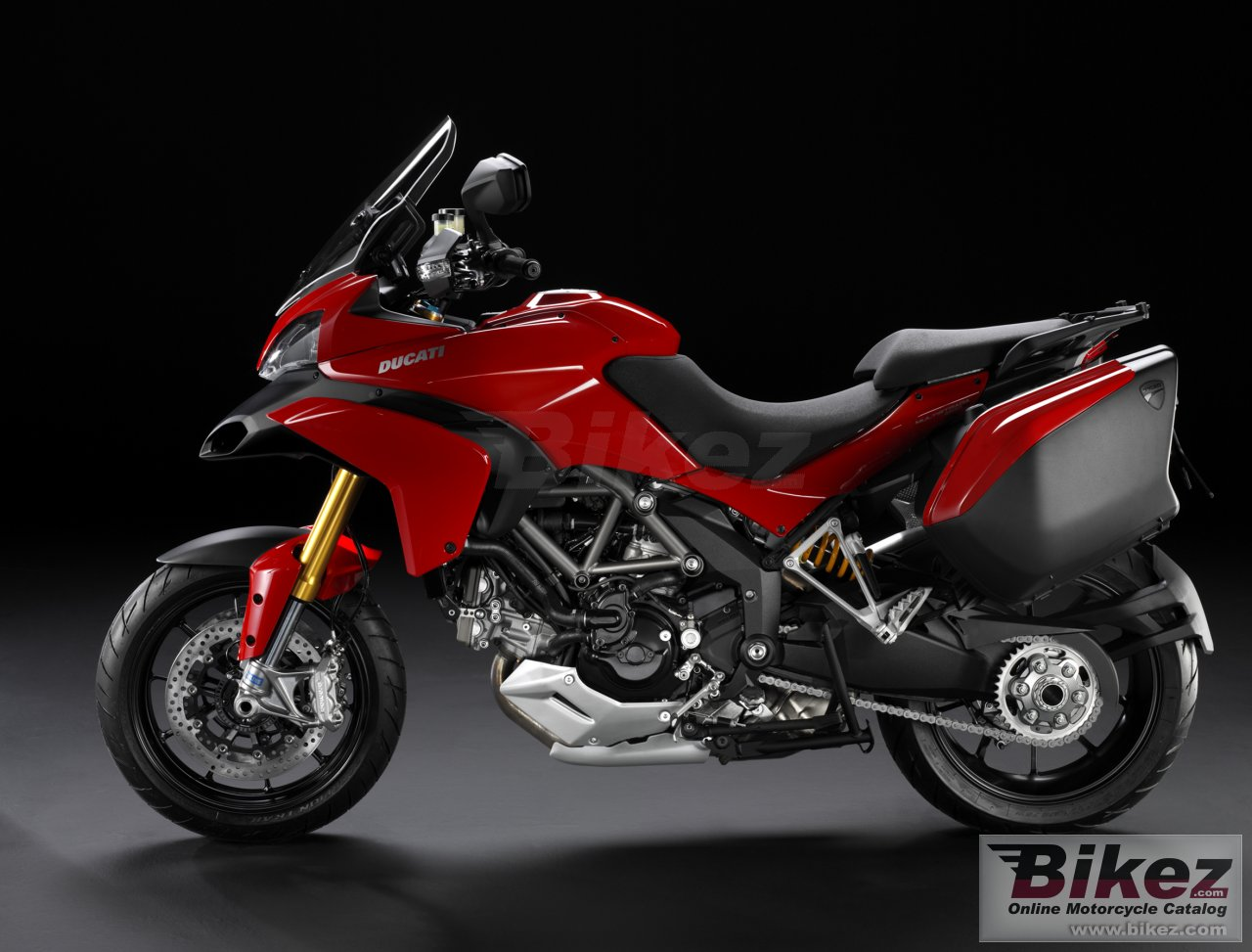 Big Ducati multistrada 1200 s touring picture and wallpaper from Bikez.com