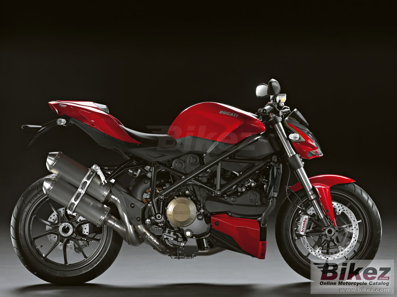 Big Ducati streetfighter picture and wallpaper from Bikez.com