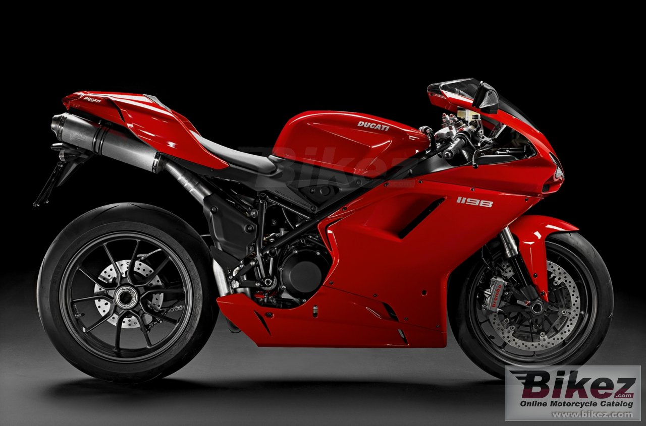 Big Ducati superbike 1198 picture and wallpaper from Bikez.com