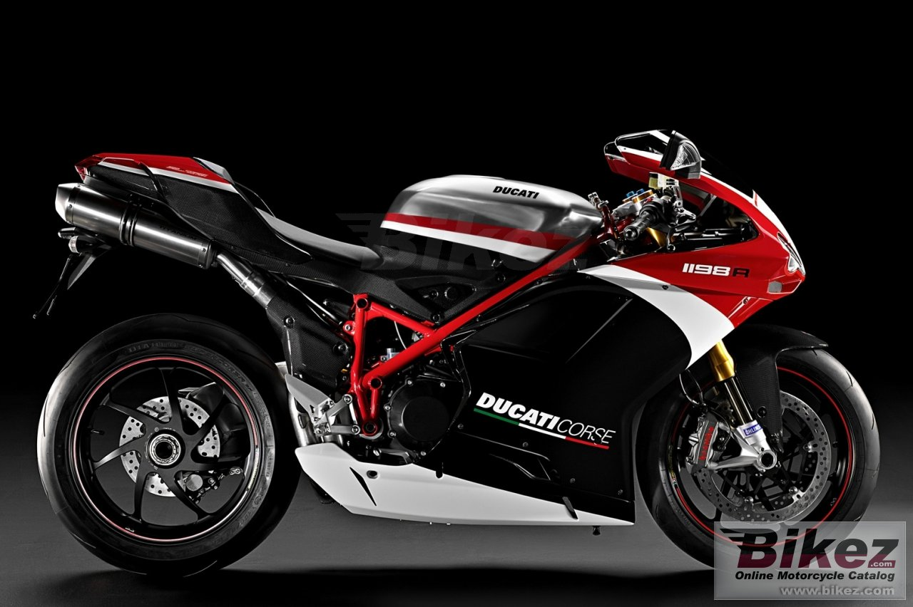 Big Ducati superbike 1198 r corse se picture and wallpaper from Bikez.com