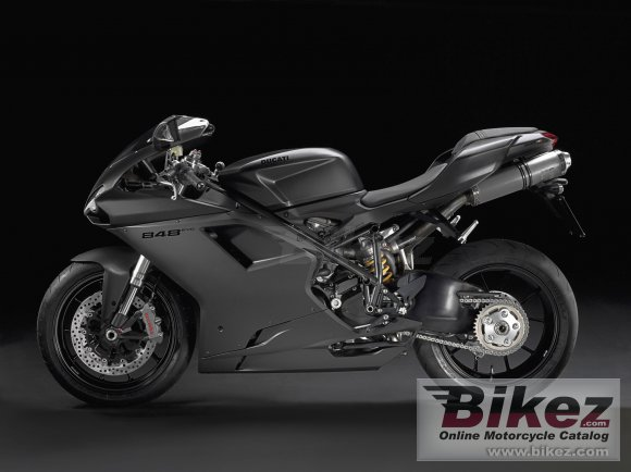 2011 Ducati Superbike 848 Evo Dark