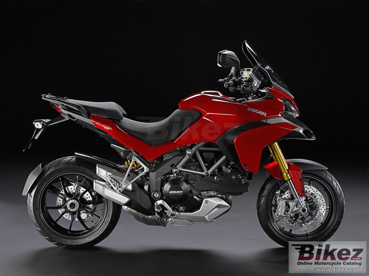 Big Ducati multistrada 1200 s sport picture and wallpaper from Bikez.com