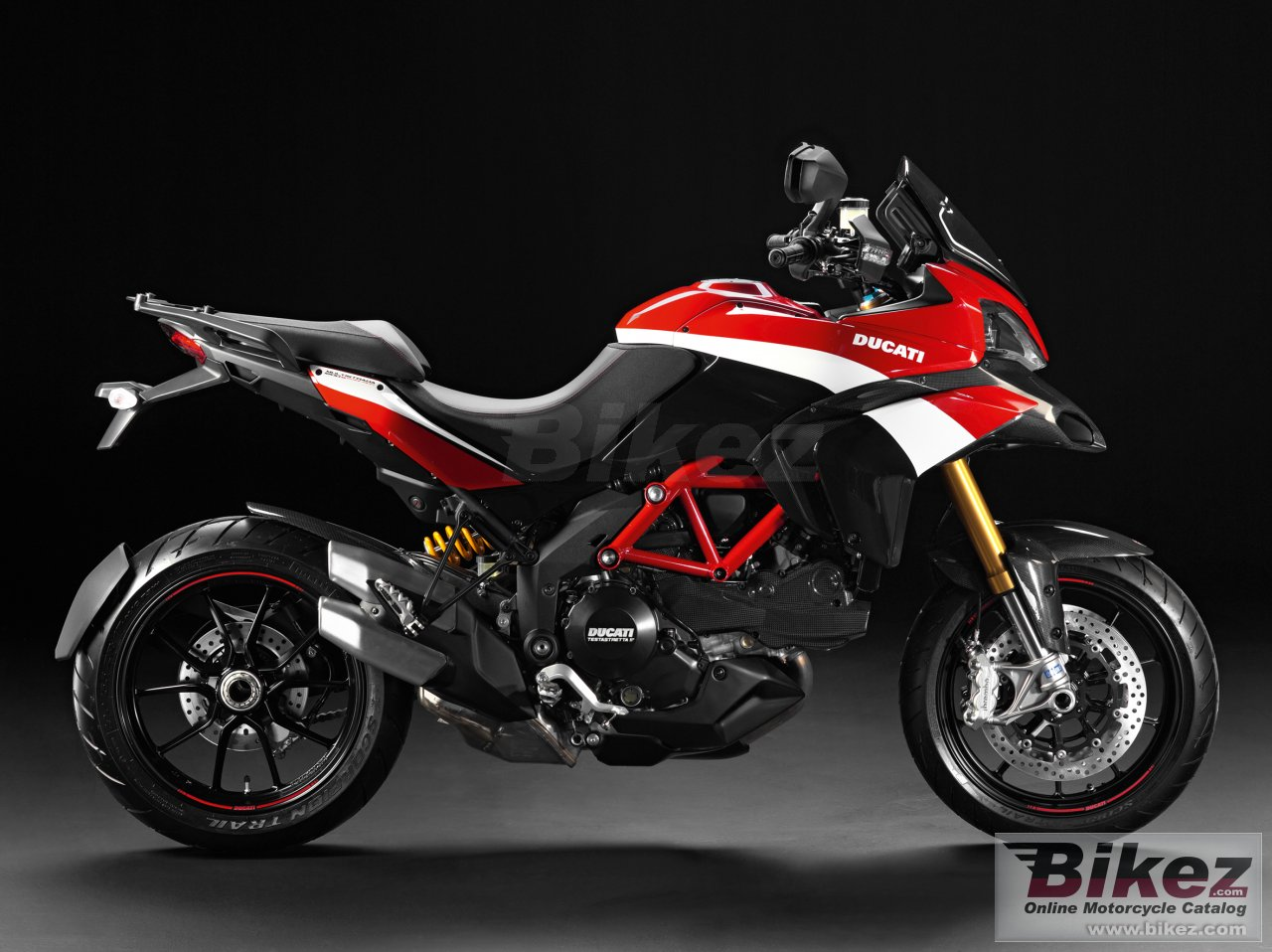 Big Ducati multistrada 1200 s pikes peak picture and wallpaper from Bikez.com