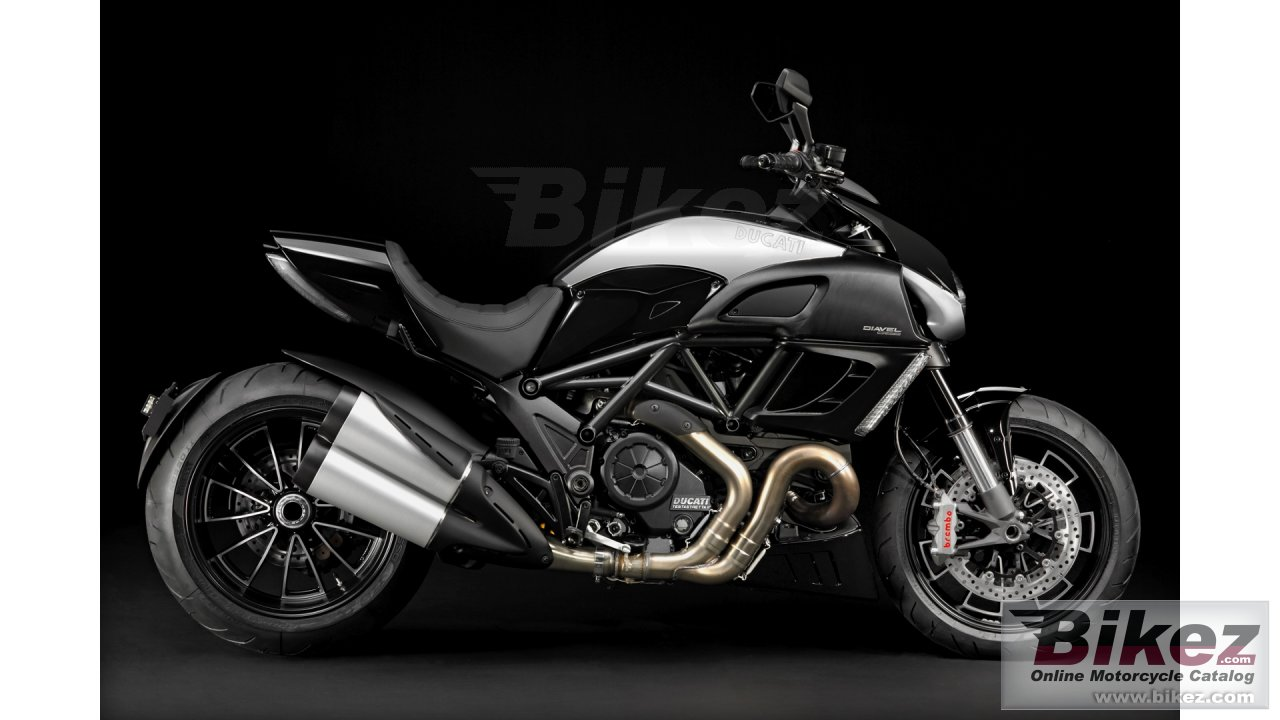 Big Ducati diavel cromo picture and wallpaper from Bikez.com