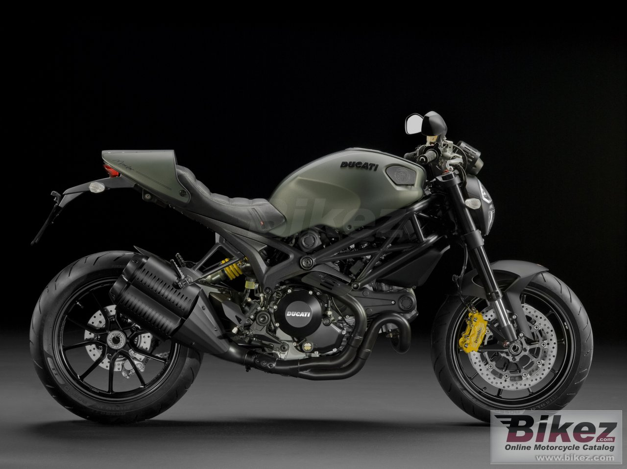Big Ducati monster diesel picture and wallpaper from Bikez.com