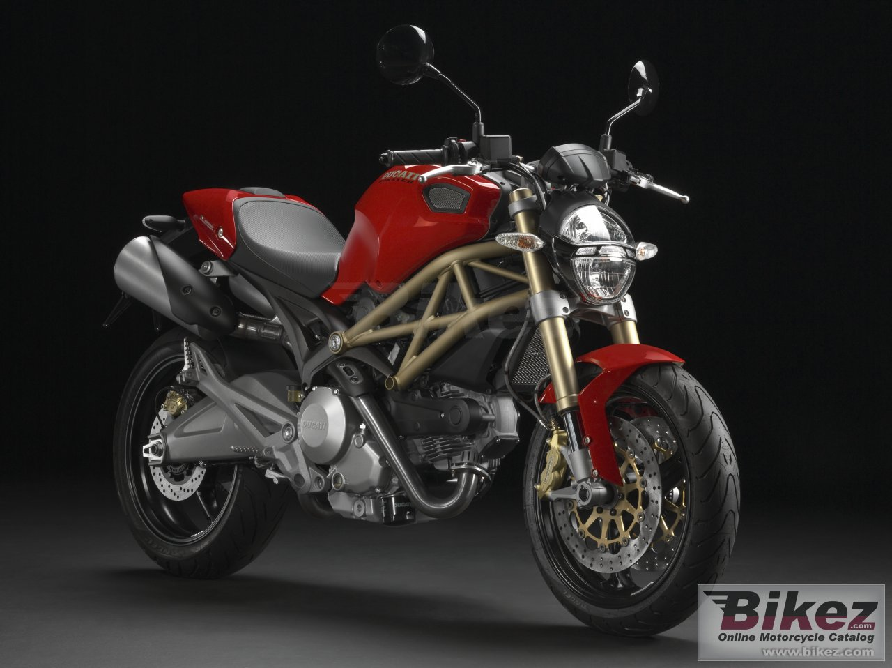 Big Ducati monster 696 20th anniversary picture and wallpaper from Bikez.com
