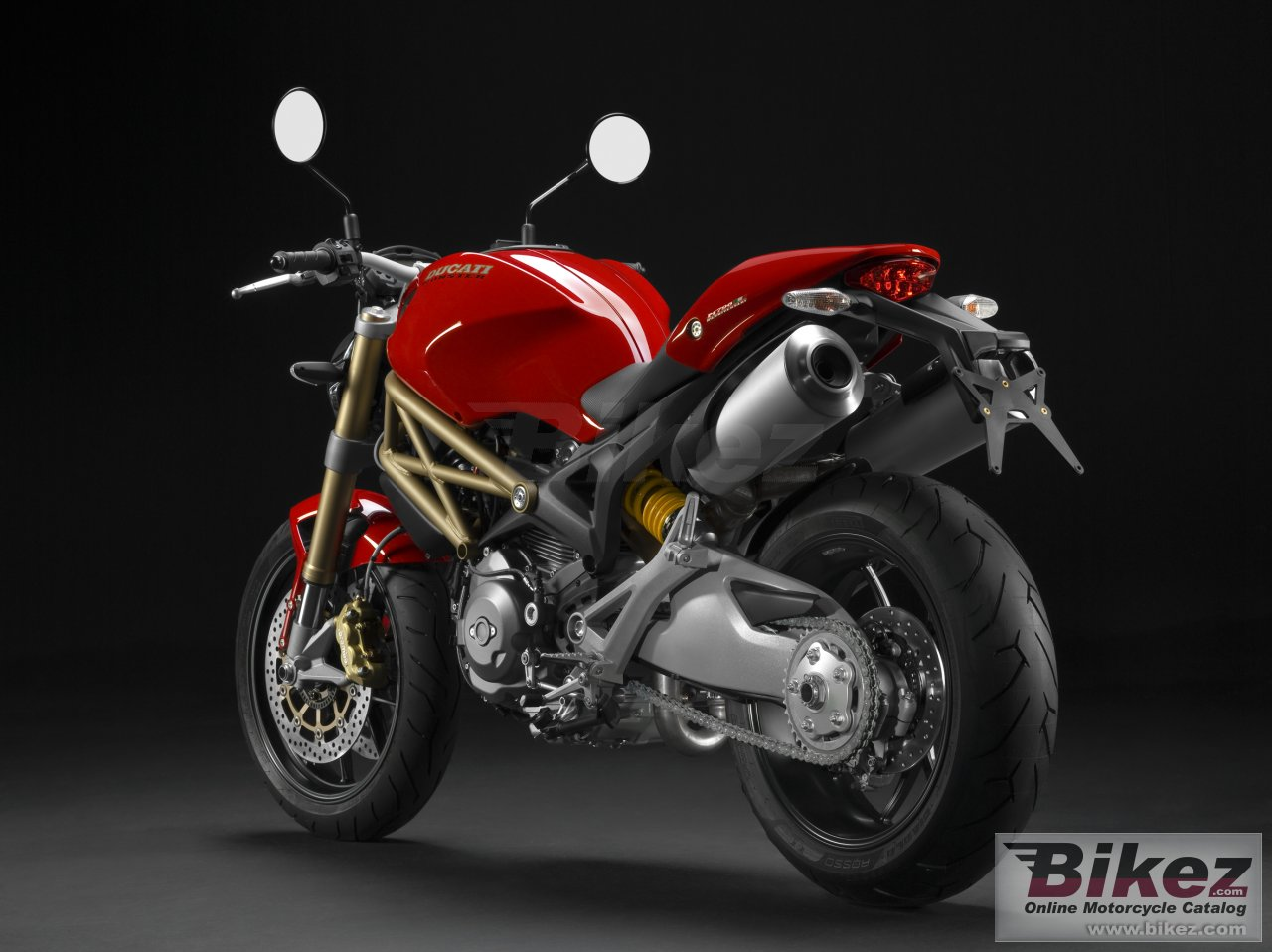 Big Ducati monster 796 20th anniversary picture and wallpaper from Bikez.com