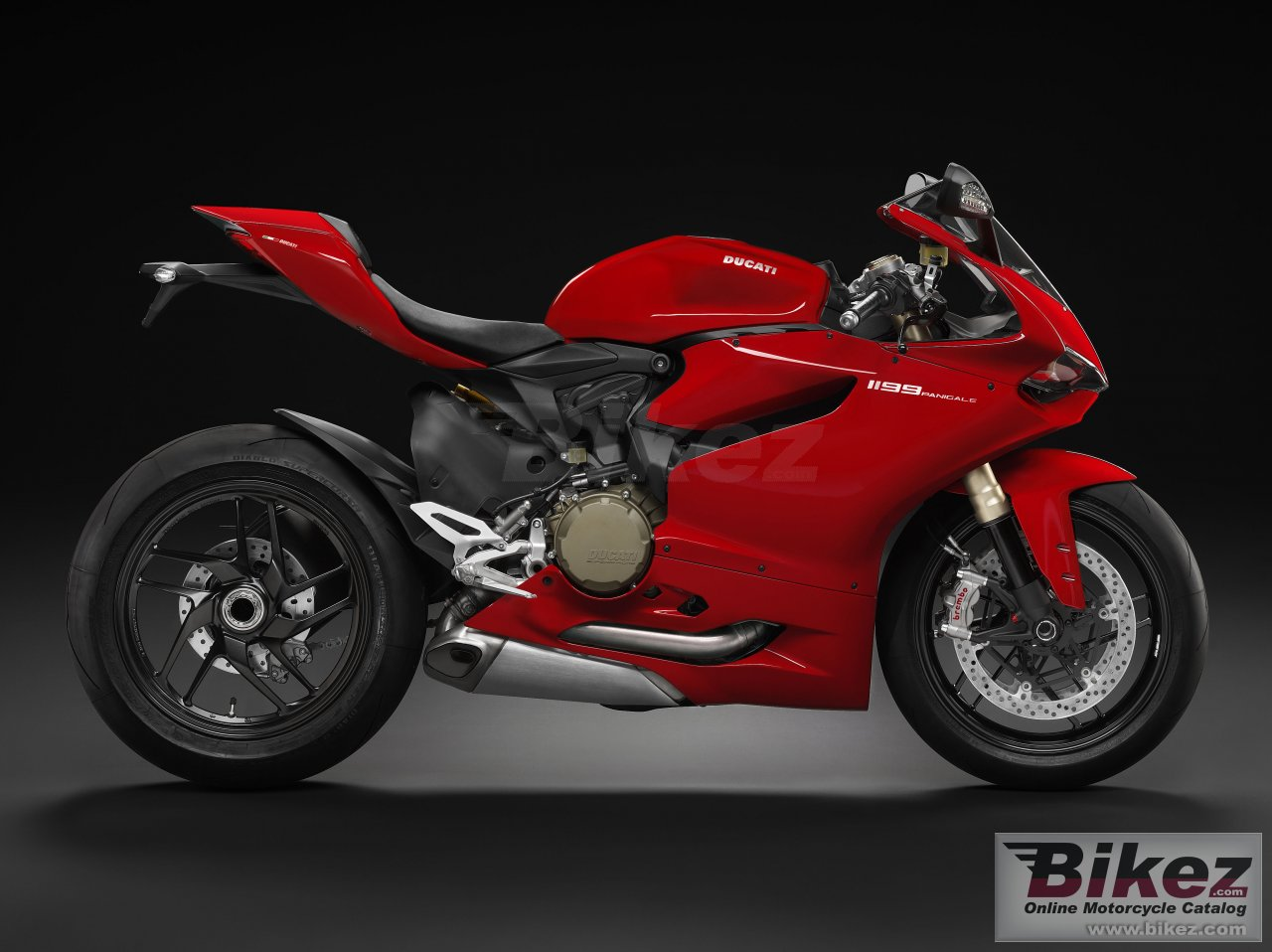 Big Ducati 1199 panigale picture and wallpaper from Bikez.com