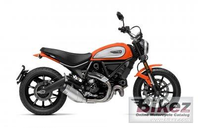 2020 Ducati Scrambler Tangerine Icon