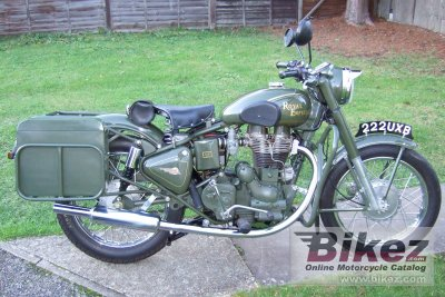 2003 Enfield 500 Bullet Army photo