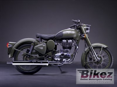 2011 Enfield Bullet C5 Military photo