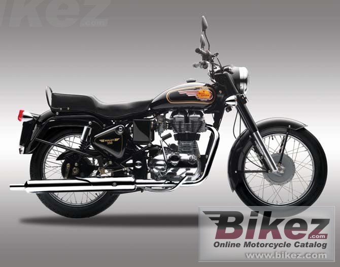 Big Enfield bullet 350 uce picture and wallpaper from Bikez.com