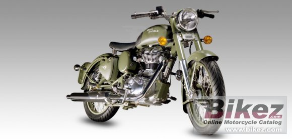 2012 Enfield Classic Battle Green