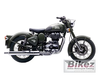 2017 Enfield Classic Battle Green