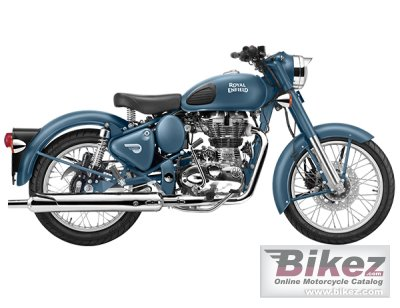 2017 Enfield Classic Squadron Blue