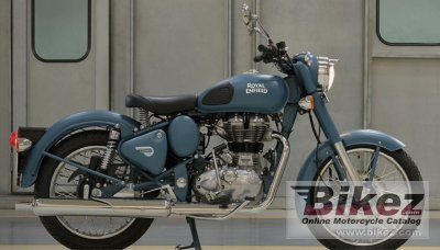 2019 Enfield Classic 500 Squadron Blue