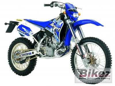 2004 Factory Bike Desert YR 250