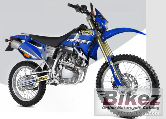 Factory Bike desert yr200
