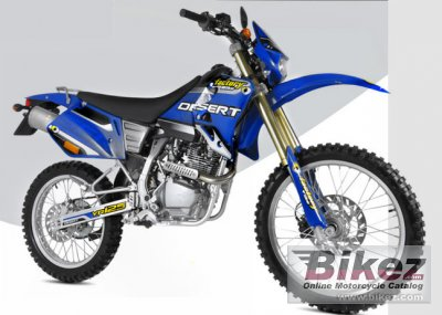 2008 Factory Bike Desert YR125