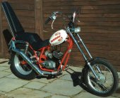 1973 Fantic TX 141 Chopper